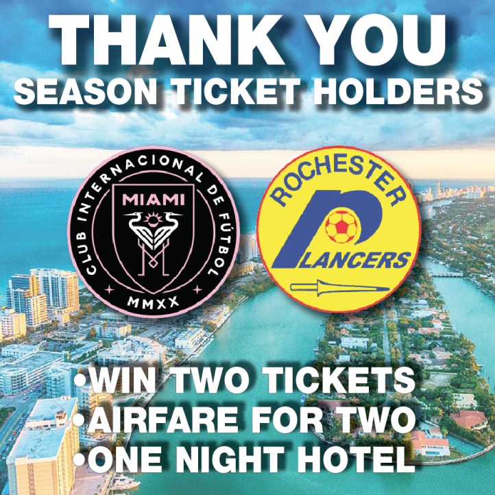 Season Ticket Holder Giveaway