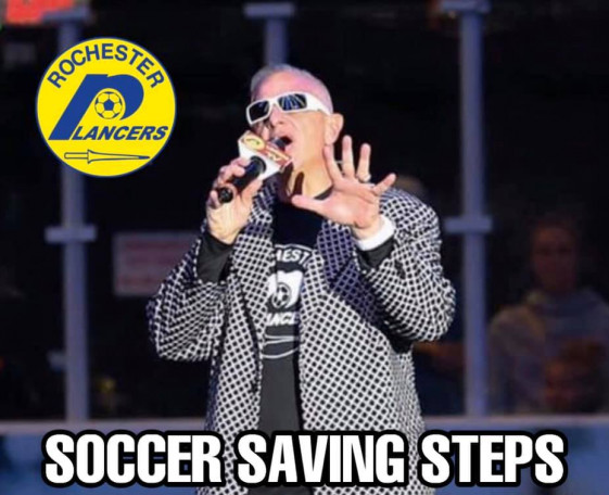 Soccer Saving Steps