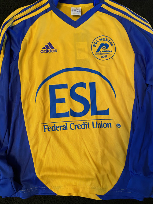 2011 Yellow Youth Adidas Jersey