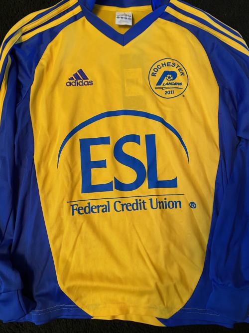 2011 Yellow Youth Adidas Jersey