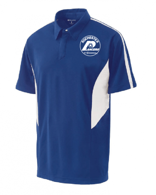 Men's Shark Bite Polo Royal