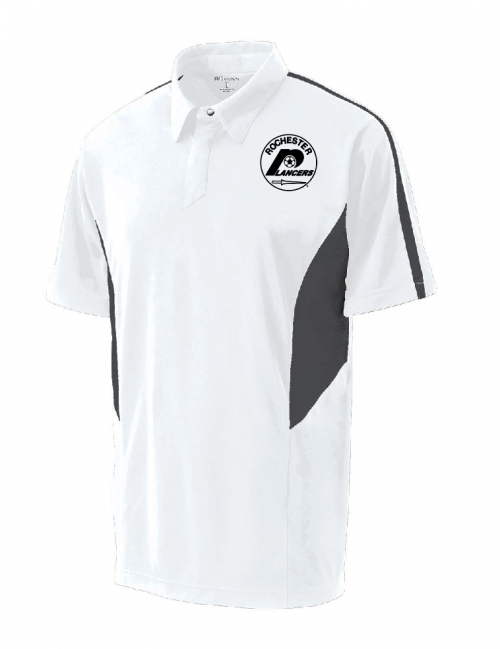 Men's Shark Bite Polo White