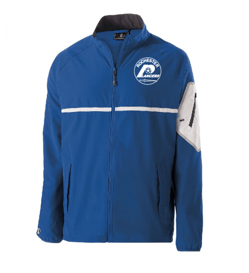 Men's Weld Full Zip Jacket Royal
