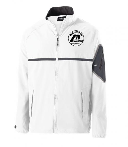 Men's Weld Full Zip Jacket White