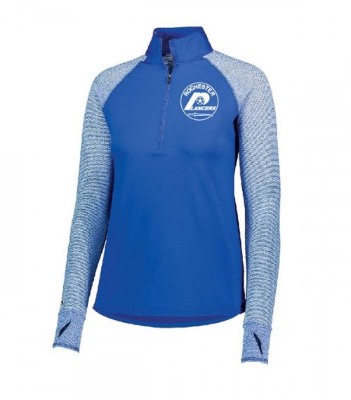 Women's Axis Half Zip Royal