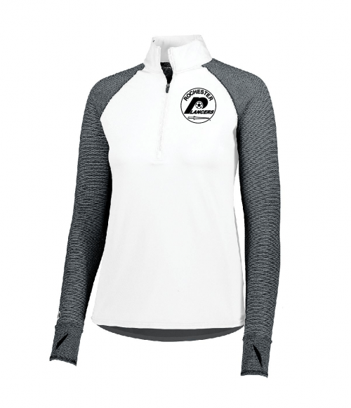Women's Axis Half Zip White