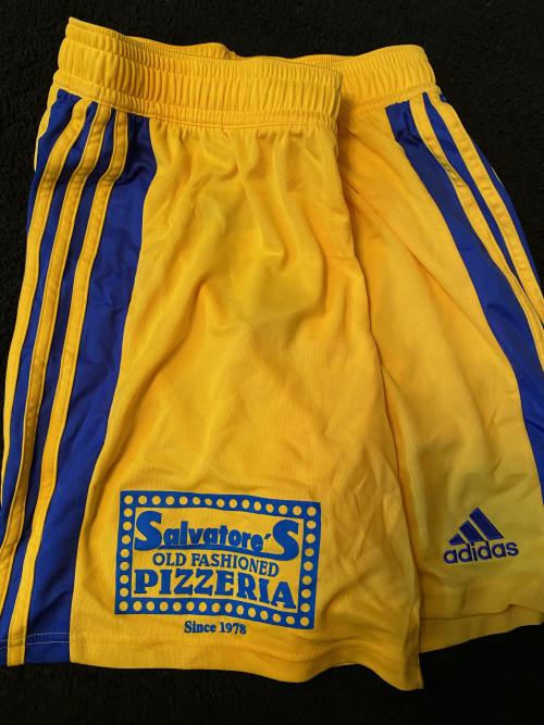 2011 Yellow Adidas Shorts