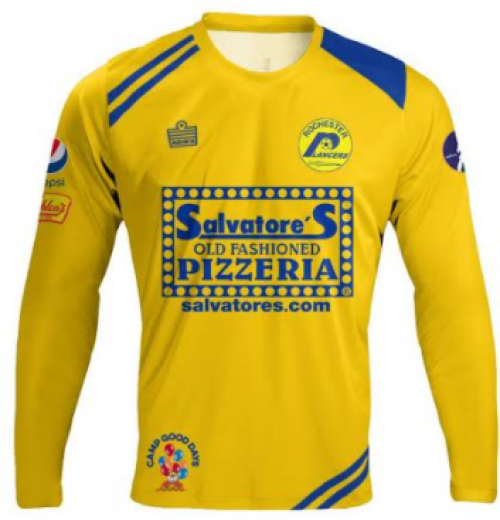 2020 Yellow Indoor Jersey