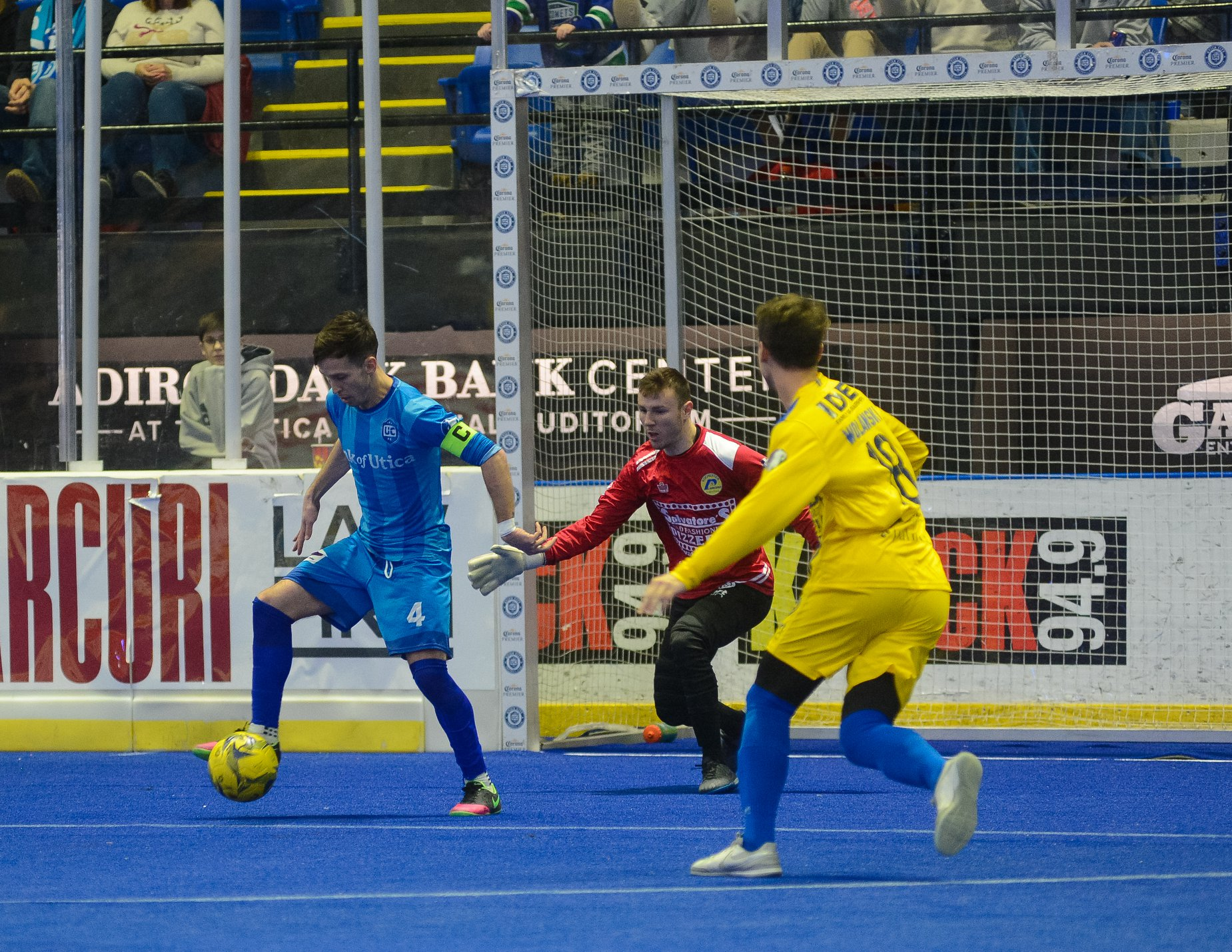 Double hat-tricks doom the Lancers at Utica City FC