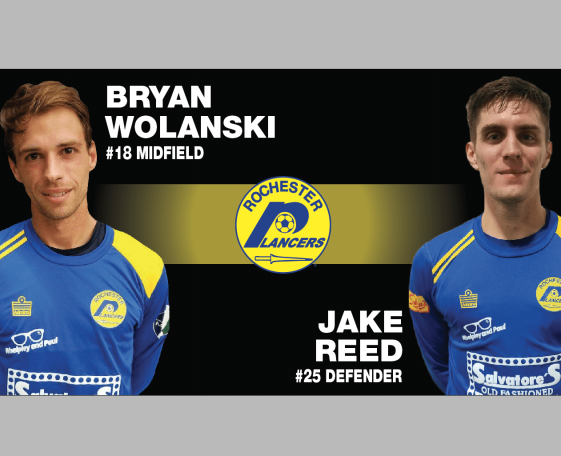 WOLANSKI AND REED ADDED TO THE LANCERS INDOOR ROSTER