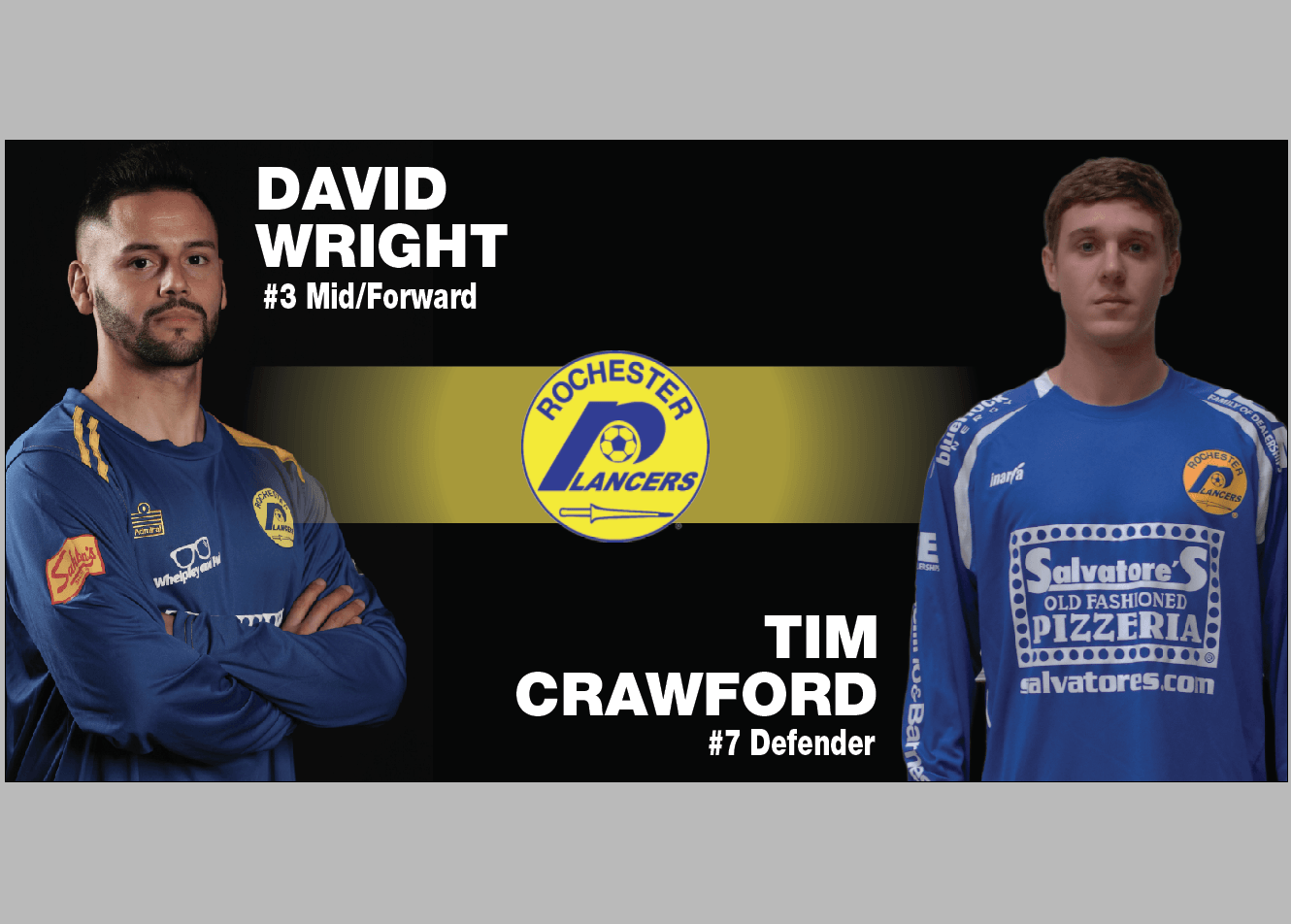 Lancers Sign Tim Crawford and David Wright