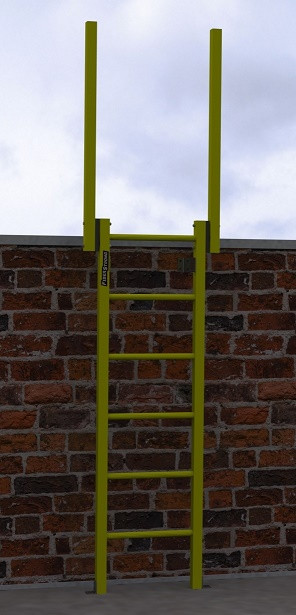 FRP Composite Fixed Ladders