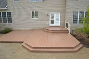 Clarence, NY Vinyl Decking