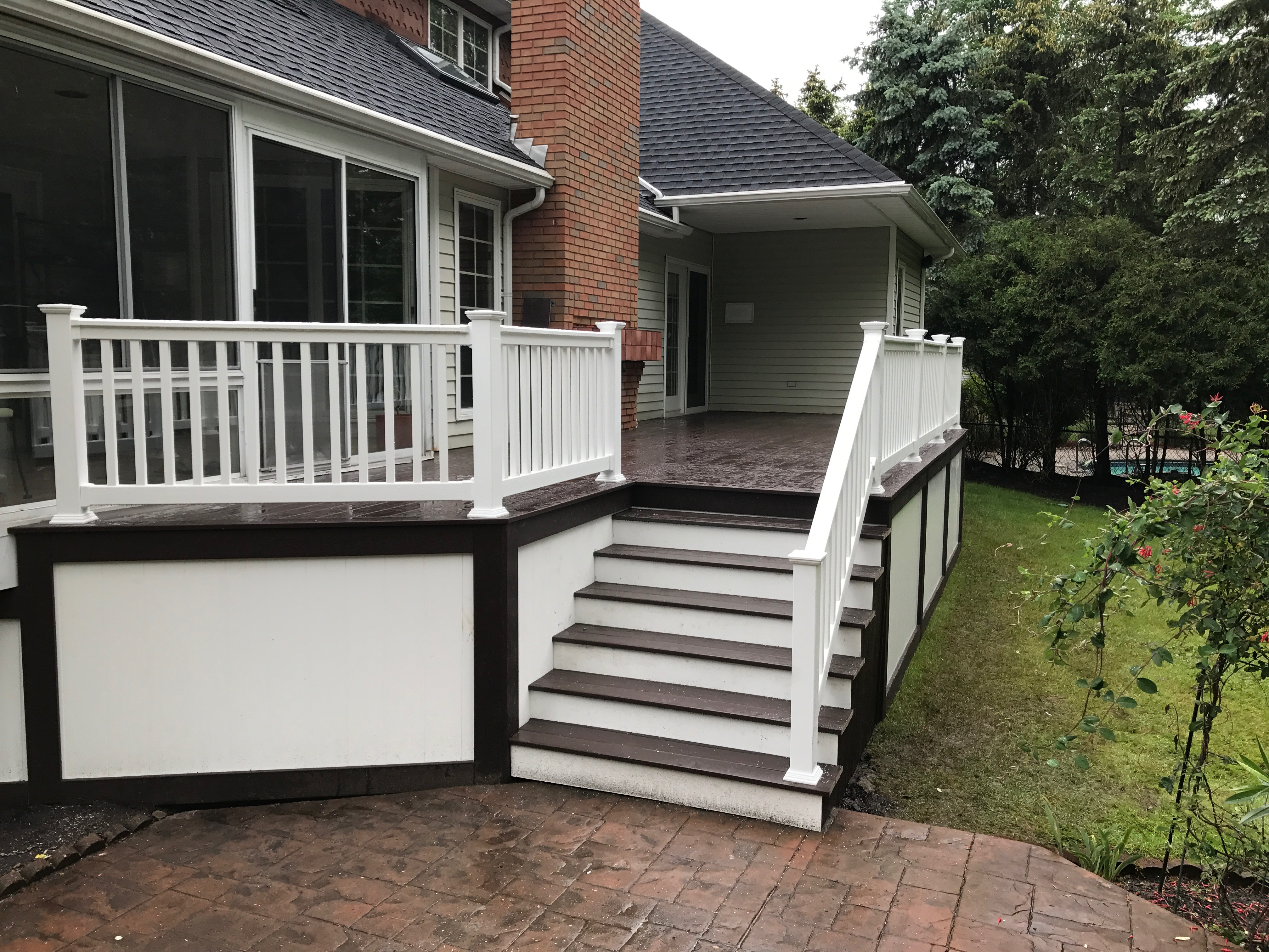 East Aurora Deck Installation