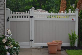 Vinyl Fence Gates