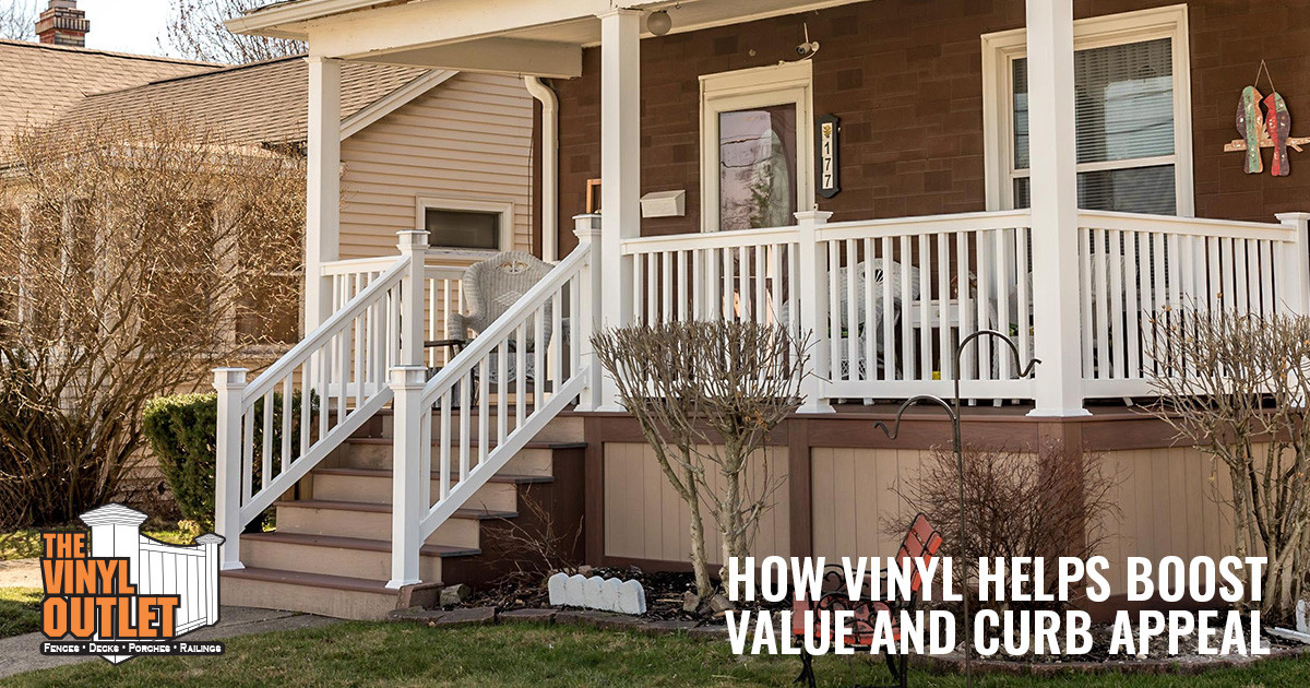 How Vinyl Decks and Fences Boost Value and Curb Appeal
