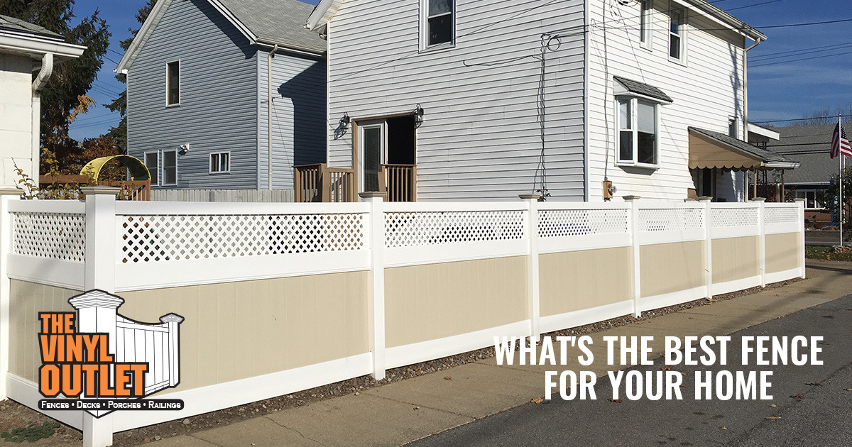 Choosing the Best New Fence for Your Buffalo Area Home