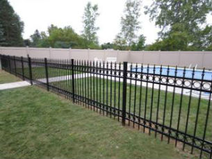 Lancaster Pool Safety Fence