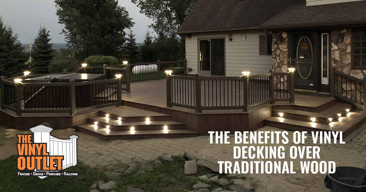 The Benefits of Vinyl Decking Over Traditional Wood