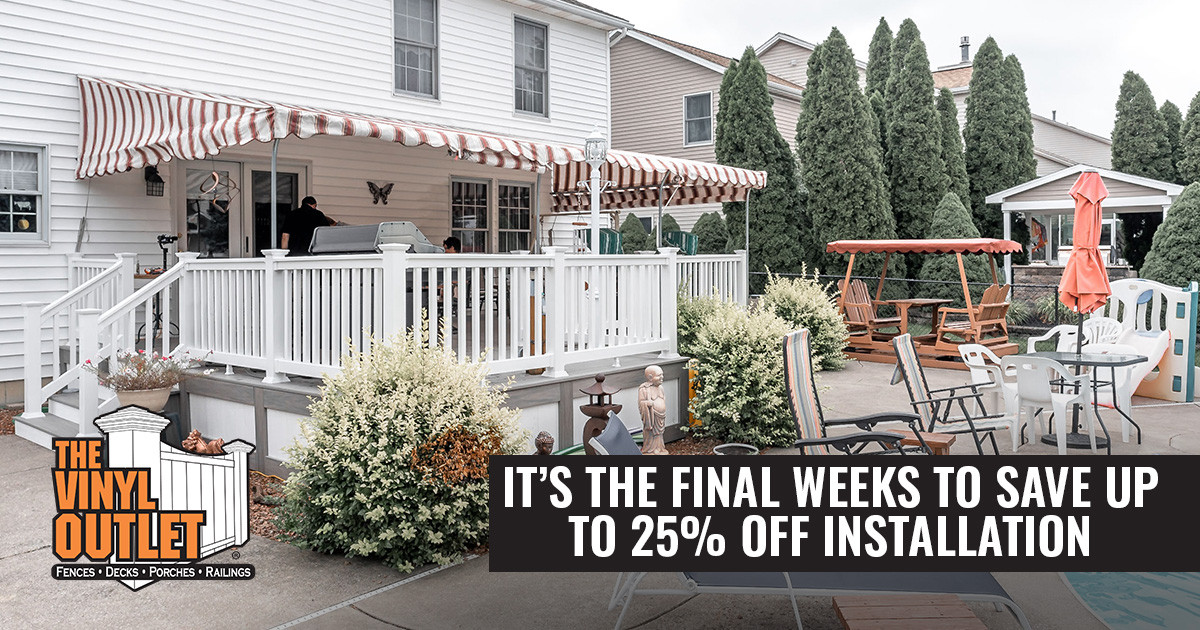 It's the Final Weeks to Save up to 25% Off Installation