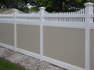Decorative Vinyl Fence Toppers