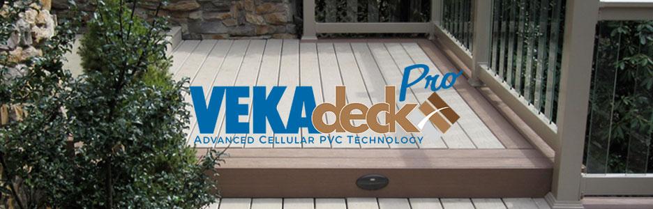 VekaDeck Vinyl Porch Material