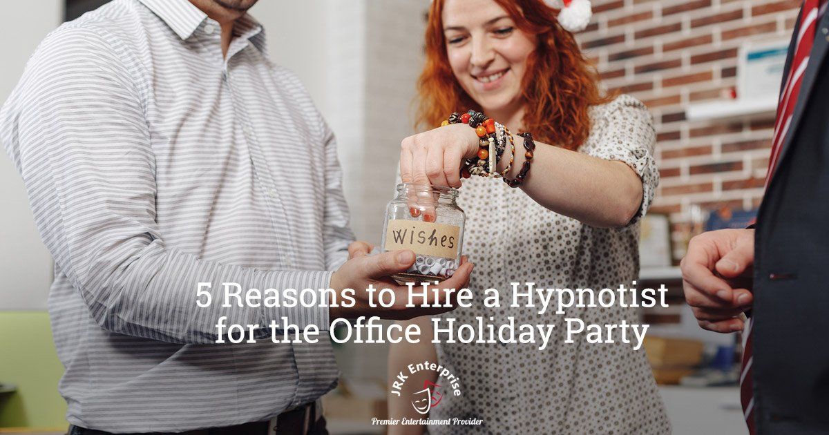 Hire a Hypnotist for the Office Holiday Party
