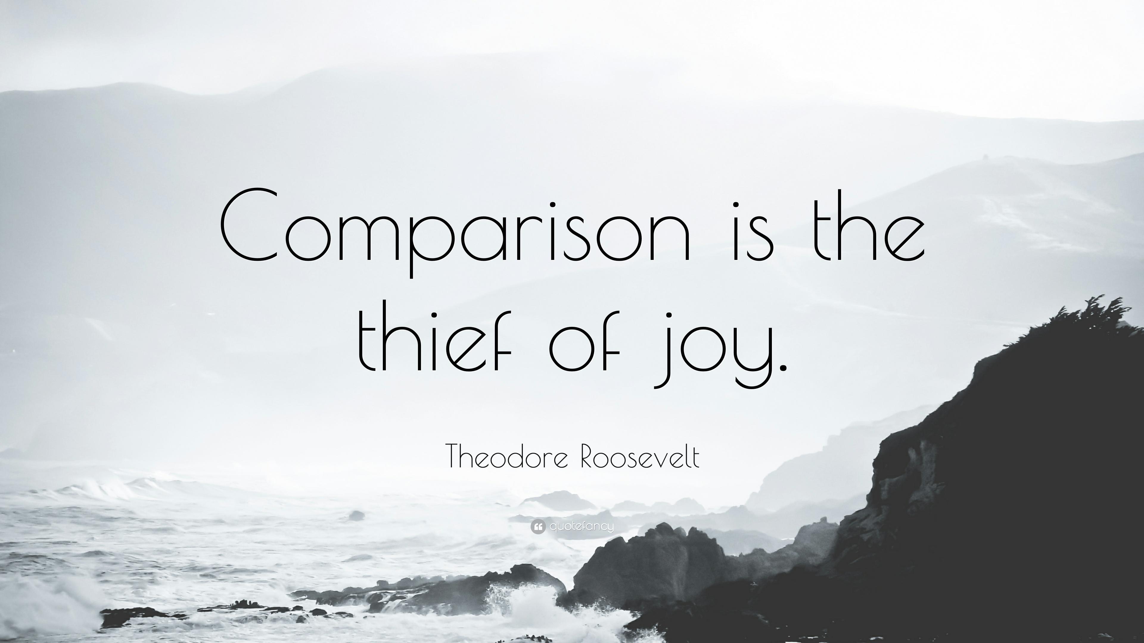 Comparison is the Thief of Joy | Wahl Media