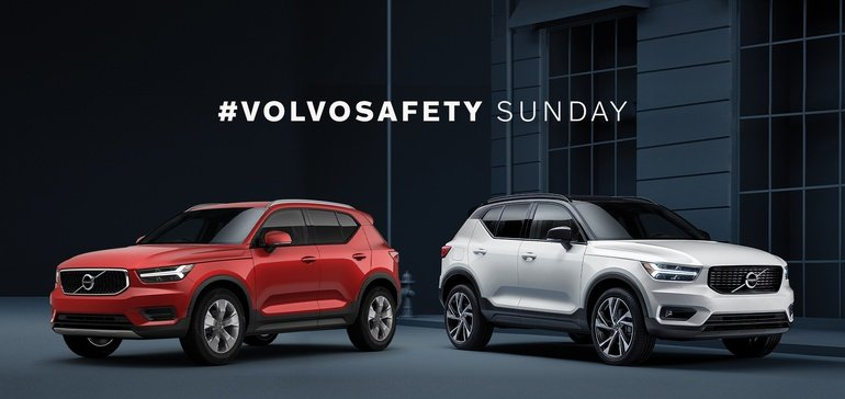 Volvo Launches Interactive Super Bowl Social Media Campaign: #VolvoSafety Sunday