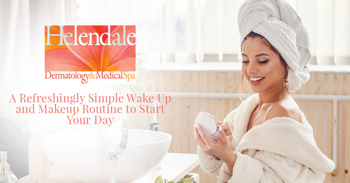 Refreshingly Simple Wake Up and Makeup Routine to Start Your Day