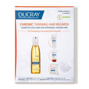 Chronic Thinning Hair Regimen for Women Ducray