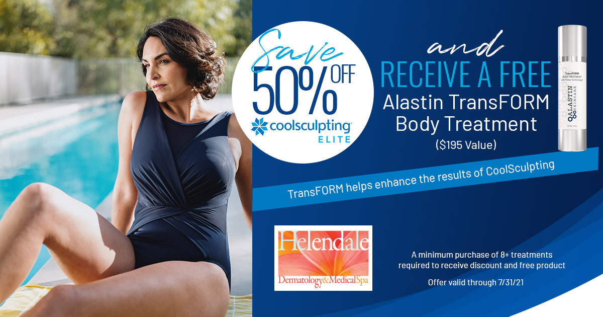 July Specials from Helendale Dermatology & Medical Spa