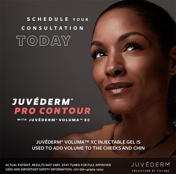 Juvederm Pro Contour with Juvederm Voluma Xc