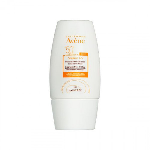 Mineral Sunscreen Fluid SPF 50+ by Avène - Tinted