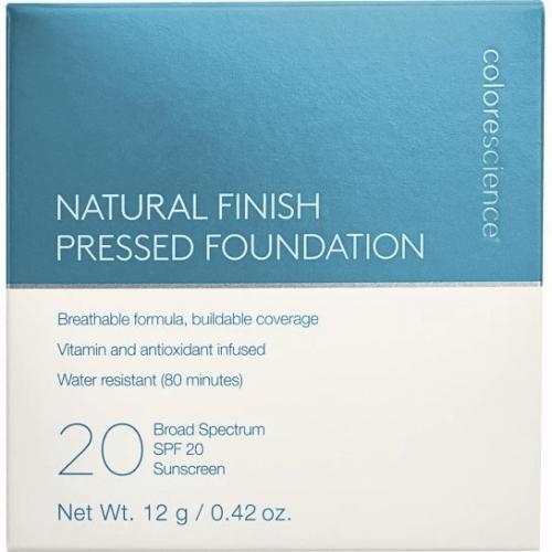 Natural Finish Pressed Foundation SPF 20 - Medium Bisque