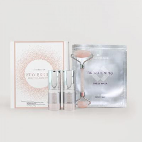 SkinMedica Stay Bright Brighten + Glow Ritual Holiday Kit