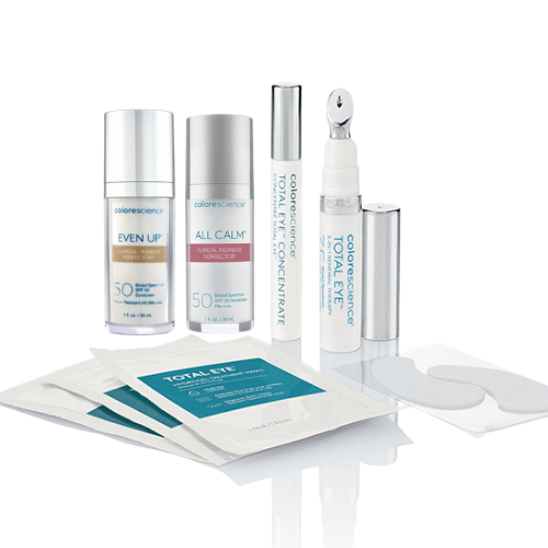 Colorescience Total Eye Restore Regimen with All Calm OR Even Up
