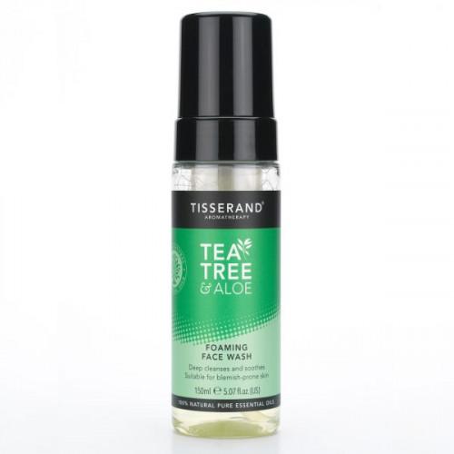 Tisserand Tea Tree & Aloe Foaming Face Wash
