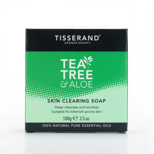 Tisserand Tea-Tree Soap Bar limit of 4