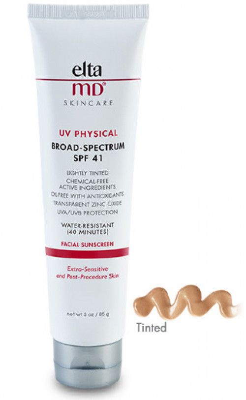 Physical Broad-Spectrum SPF 41 Facial Sunscreen Tinted by eltaMD