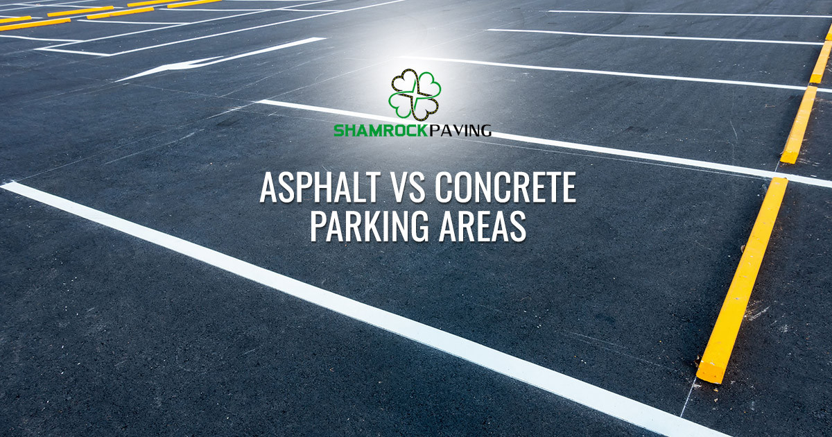 Asphalt or Concrete, Which Pavement is Better for Parking Lots