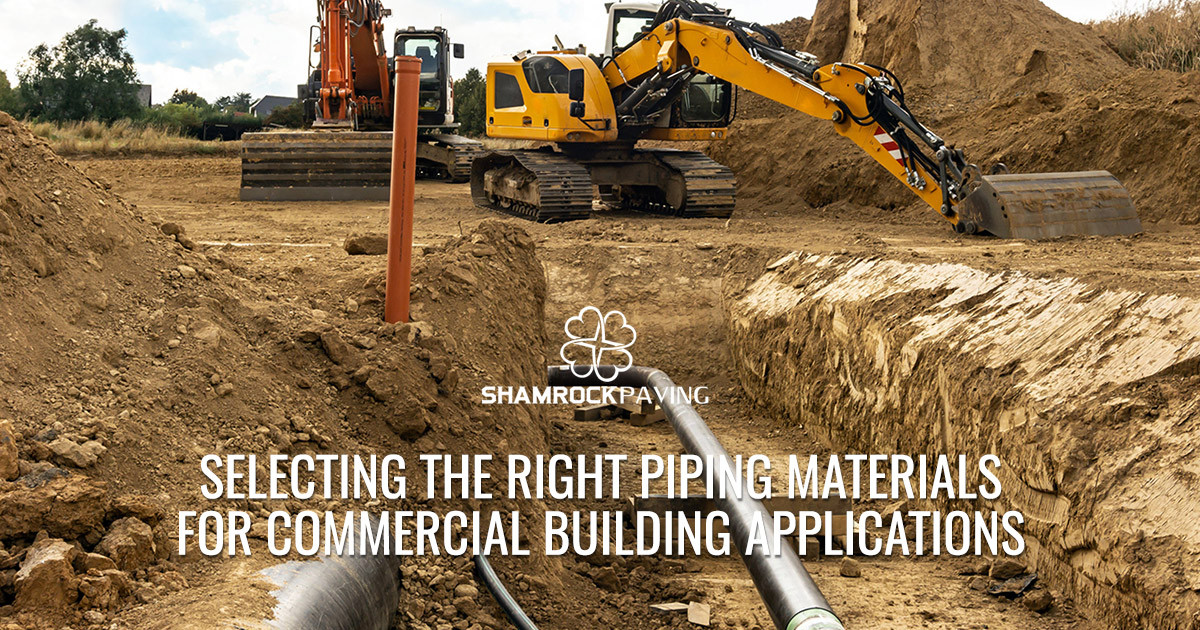 Selecting the Right Piping Materials for Commercial Building Applications