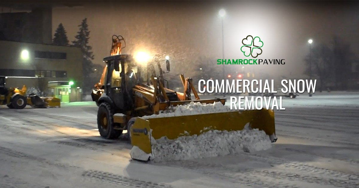 Commercial Snowplowing Rochester NY