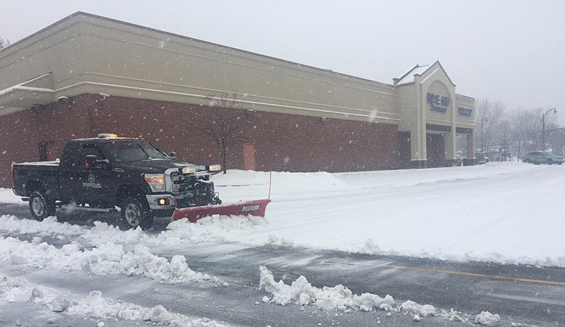 Commercial Snow Plowing in Rochester NY