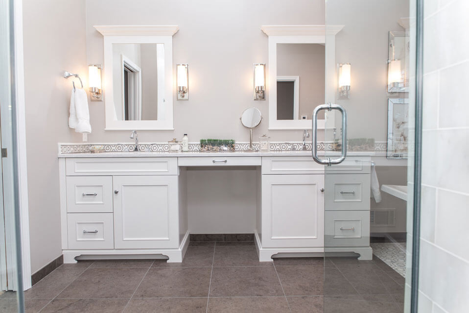 Chic & Sophisticated Master Bath Remodel in Rochester, NY ...