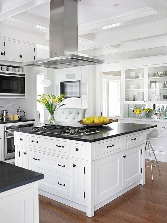 White Cabinets in a Modern Kitchen Design