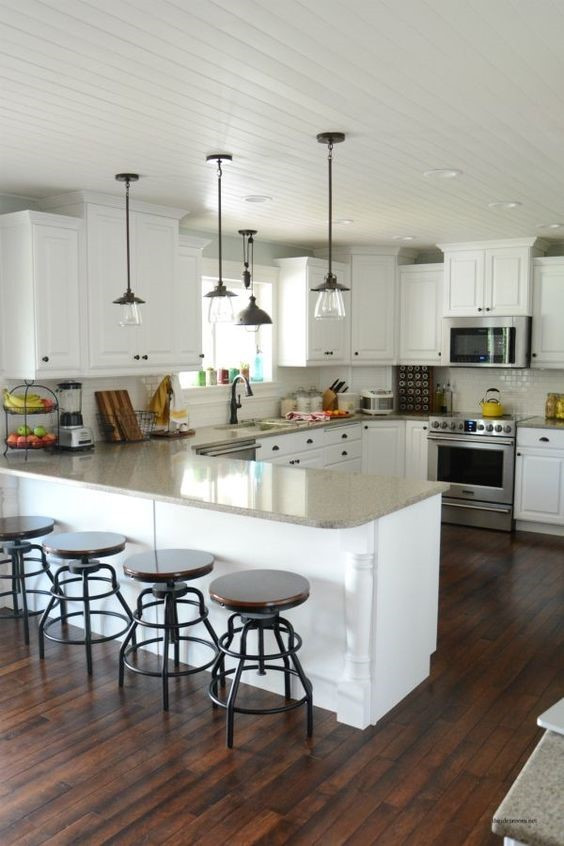 The Absence Of Color The Use Of White Kitchen Cabinets Concept Ii