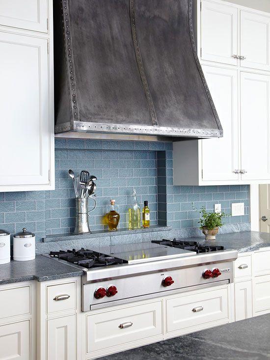 Kitchen Tile Backsplash Niche