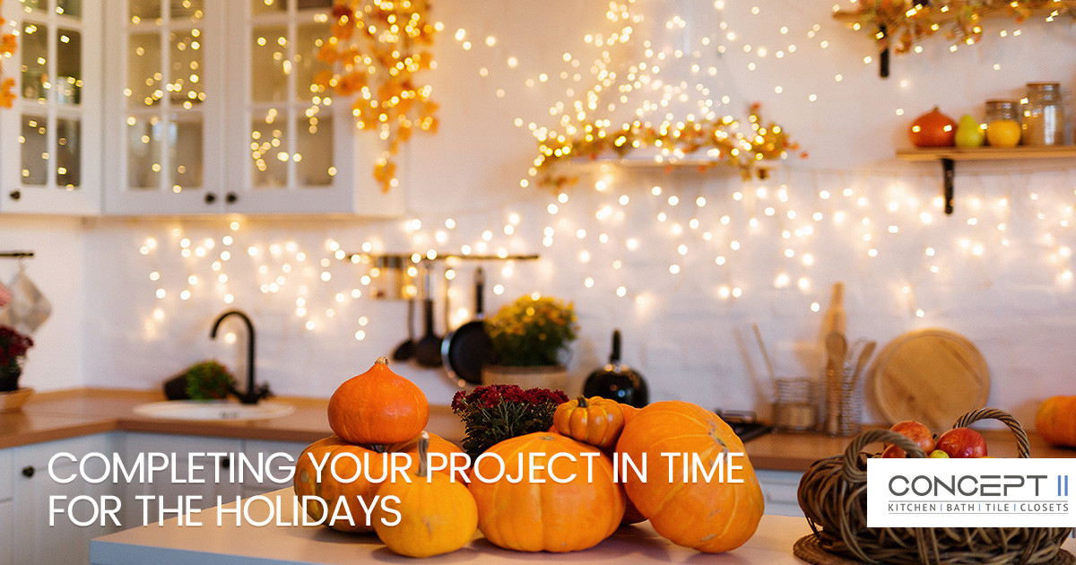 Tips for Completing Your Tile Project in Time for the Holidays