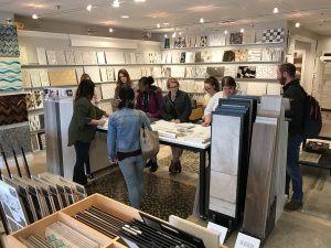 Interior Design Students from MCC visit Concept II